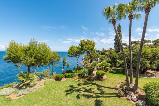 Apartment zum Renovieren in erster Meereslinie mit traumhaftem Blick in Cala Vinyas
