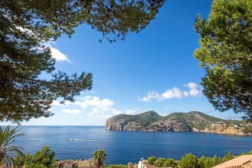 Grundstück mit traumhaftem Blick in Camp de Mar