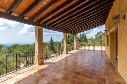 Herrliches Anwesen mit spektakulärem Panoramablick auf das Meer in Galilea