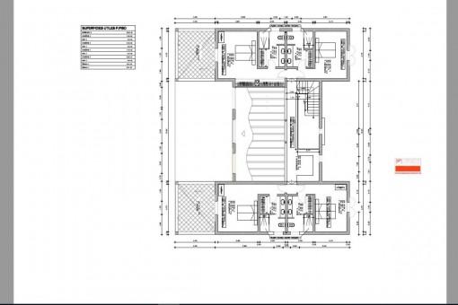 Obere Etage der Finca