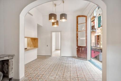 Erstbezug -  Kernsaniertes Design-Apartment in Palmas zentraler Altstadtlage