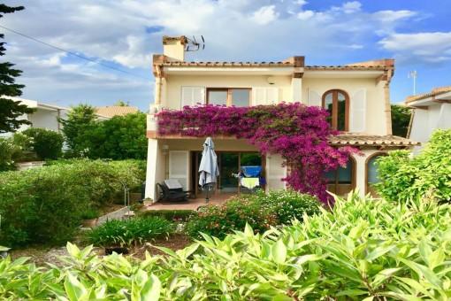 Freistehende Villa mit gepflegten und gemütlichen Charme in einer ruhiger Nachbarschaft von Puerto Pollenca
