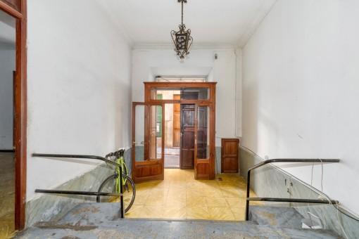 Typisch mallorquinischer Eingangsbereich