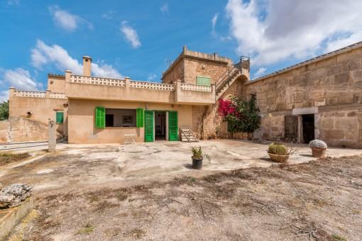 Altes mallorquines Anwesen zum renovieren in Campos