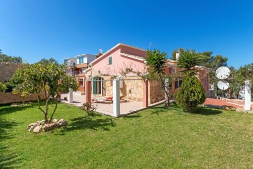 Villa mit 4 Schlafzimmern und Meerblick über die Bucht von Santa Ponsa