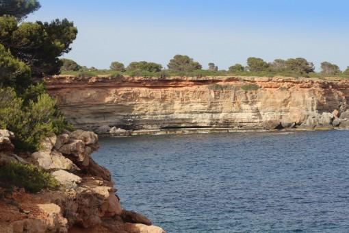 Felsige Küste von Vallgonera
