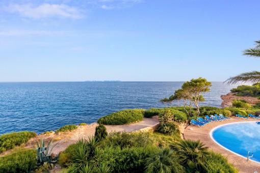 Traumhafter Blick bis zur Insel Cabrera