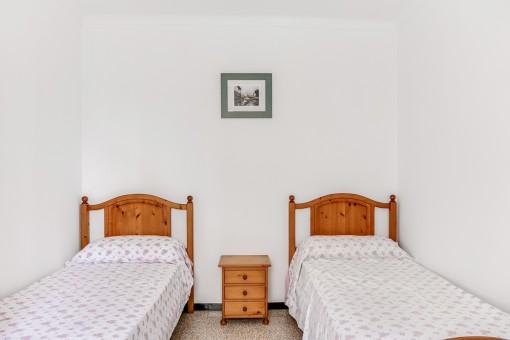 Helles Doppelschlafzimmer
