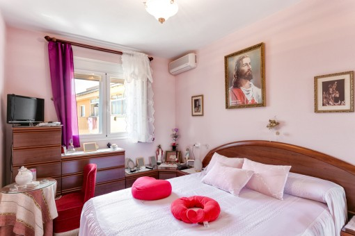 Doppelschlafzimmer mit Klimaanlage