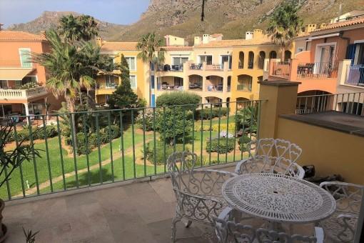Penthouse Wohnung mit herrlichem Meerblick in einer der schönsten Anlagen direkt am Meer in Betlem