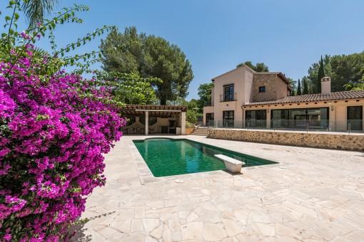 Luxusvilla in der Nähe von Golf Santa Ponsa