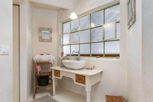 Badezimmer im Loft-Design