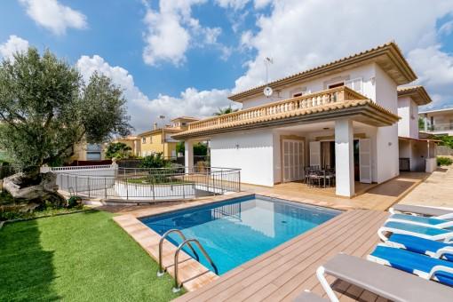 Großzügige Villa mit Vermietlizenz in einer der begehrtesten Gegenden im Süden von Mallorca
