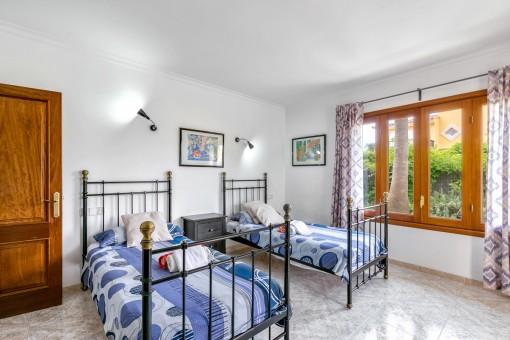 Eines von insgesamt 5 Schlafzimmern