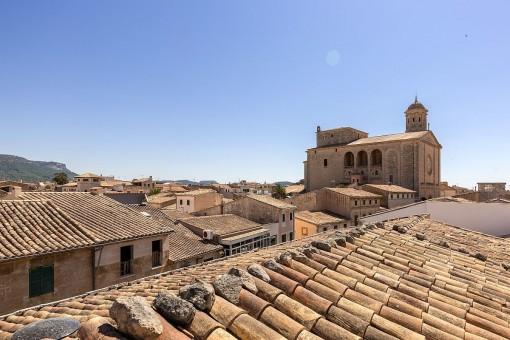 Wundervoller Blick über die Dächer von Llucmajor