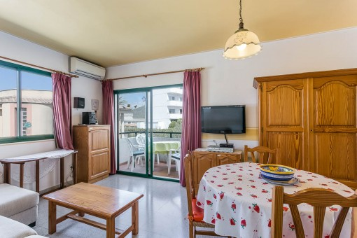 Gepflegtes Apartment in Alcúdia für den perfekten Sommerurlaub in Ferienanlage mit Strandnähe