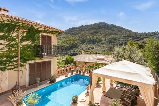 Hochwertige Villa mit Pool und toller Aussicht in Valldemossa