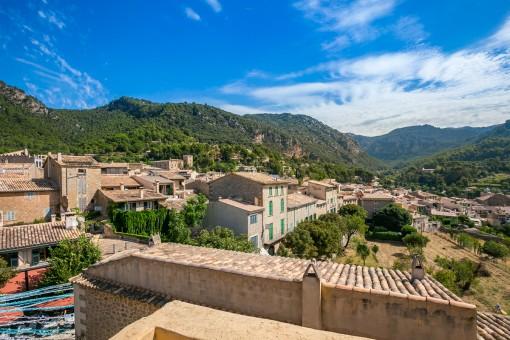 Wunderschöner Ausblick über Valldemossa