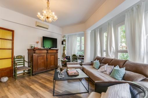 Großzügiger Wohnraum für den typischen Stadtliebhaber in Palma