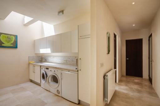 Die Finca verfügt außerdem über eine Waschküche