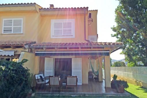 Doppelhaushälfte in Alcudia verfügbar von September bis Juni - nur 300 m Distanz zum Sandstrand