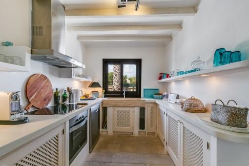 Moderne Küche im Landhausstil