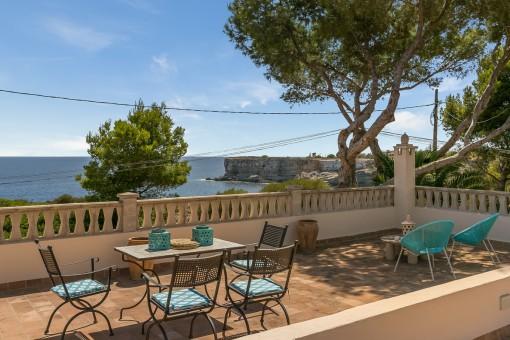 Wundervoller Terrasse mit Gästehaus
