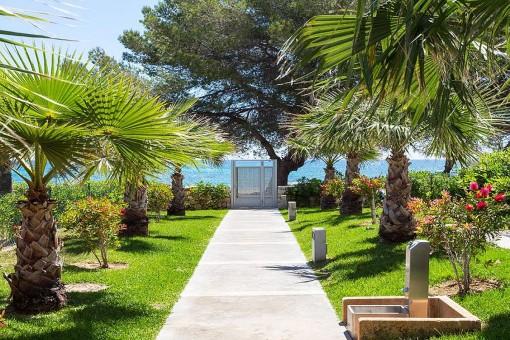 Schönes Apartment mit großer Terrasse und Gemeinschaftspool in gepflegter Anlage in Son Servera