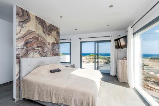Das dritte Schlafzimmer mit Meerblick