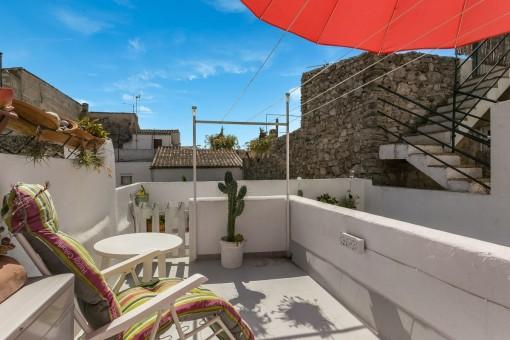 Charmantes renoviertes Stadthaus in Arta in ruhiger Lage