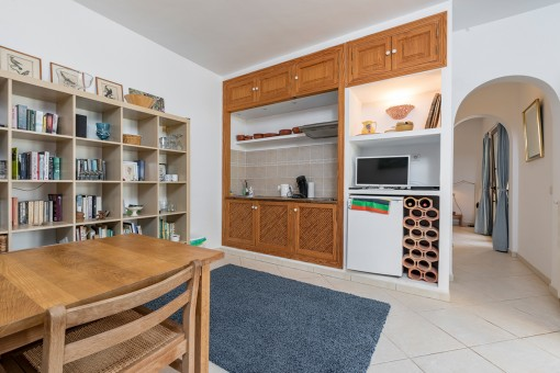 Kleine Gästeküche