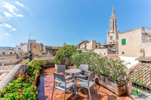 Spektakuläre Penthouse-Wohnung in Palma mit 2...