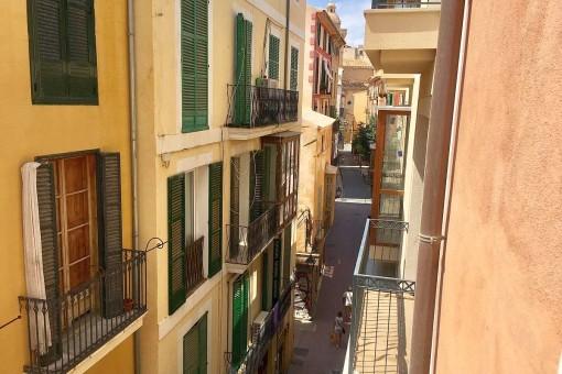Ansicht der Altstadtgasse