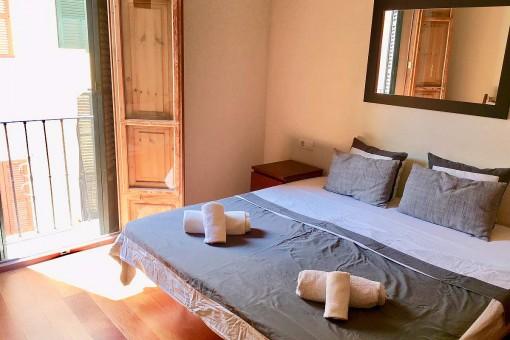 Sonniges Doppelschlafzimmer