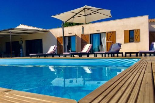 Luxuriöse Finca auf einem 5.000 qm Grundstück am Stadtrand von Llucmajor