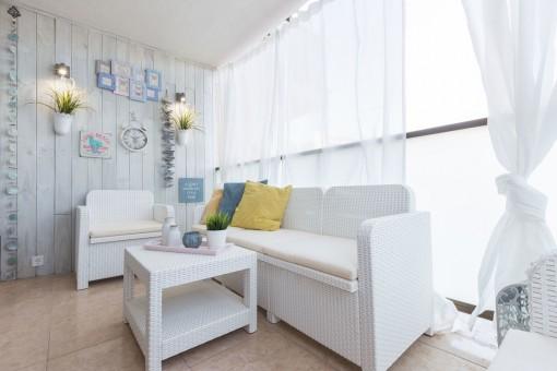 Top sanierte Wohnung in fußläufiger Nähe zum Strand in Cala Major