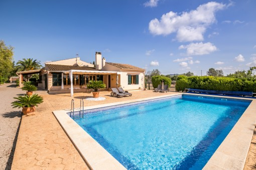 Mediterrane Finca mit Swimmingpool in Llucmajor