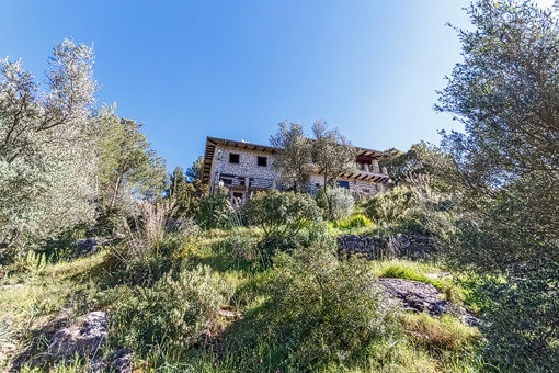 Rustikales Landhaus mit traumhaftem Blick in Puigpunyent