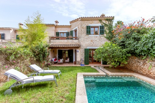 Herrliches Haus mit Pool und Garten in Ses Alqueries
