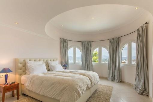 Luxuriöses Doppelschlafzimmer