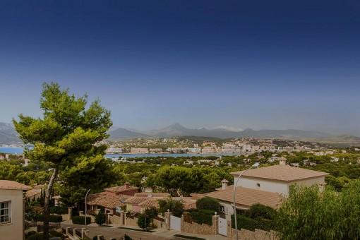 Atemberaubender Blick über die Bucht von Santa Ponsa