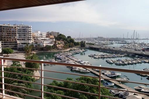 Tolle Wohnung mit Hafenblick in Palma
