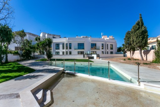 Wunderschönes Neubau- Erdgeschoss-Apartment mit großer Terrasse für Golfliebhaber, in der Nähe von Son Vida