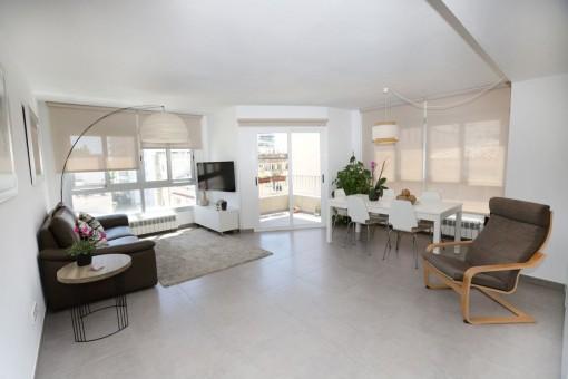 Schöne, moderne Wohnung nahe an den Szenevierteln Palmas