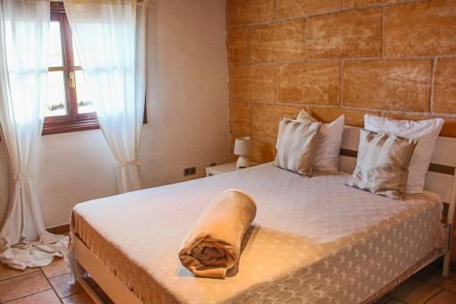 Komfortables Schlafzimmer