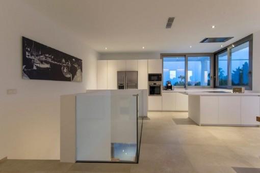 Alternative Ansicht der Küche