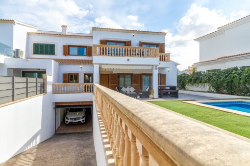 Gepflegtes Doppelhaus-Chalet in beliebter Wohngegend in Puig de Ros