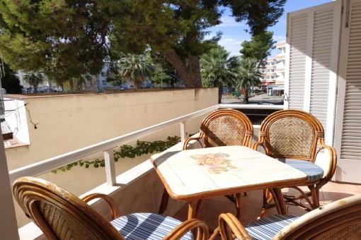 Frisch renoviertes, strandnahes  2-Schlafzimmer-Apartment an der Playa de Muro