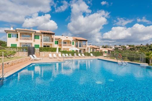 Spektakuläres Penthouse mit Meerblick in Cala Anguila