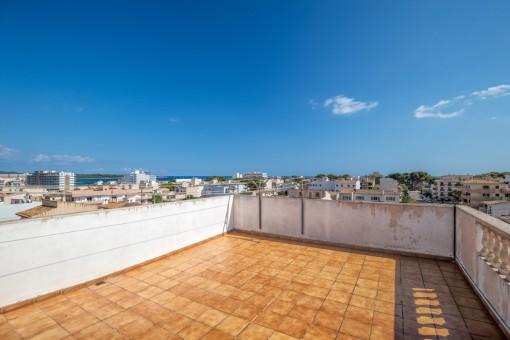 Wohnung in ruhiger Lage von S'Illot nahe am Strand
